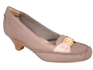 Sapato Feminino Usaflex 3519 Nude - Tamanho Médio