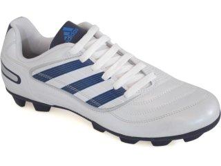 Chuteira Masculina Adidas Predito x G29822 Branco/azul - Tamanho Médio
