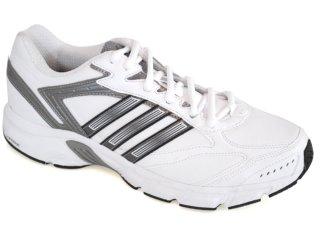 Tênis Masculino Adidas Duramo G16947 Branco/cinza - Tamanho Médio