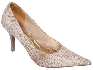 Sapato Feminino Via Marte 10-10305 Areia - Tamanho Médio
