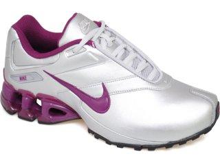 Tênis Feminino Nike Impax Emirro 386844-003 Prata/lilas - Tamanho Médio
