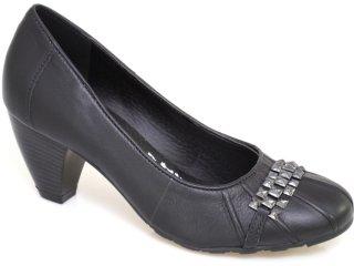 Sapato Feminino Via Marte 10-6002 Preto - Tamanho Médio