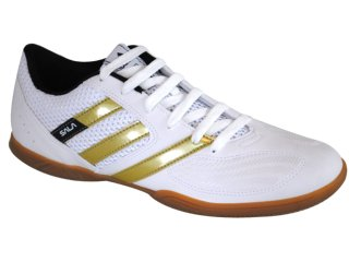 Tênis Masculino Adidas Adisala G29514 Branco/dourado - Tamanho Médio
