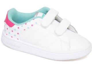 Tênis Adidas STAN SMITH G13272 Brancopink Comprar na... da05c8baccf12