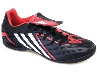 Tênis Masculino Adidas Predito ps  258282 Preto/verm - Tamanho Médio
