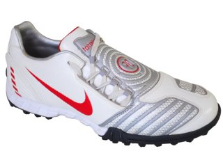 Tênis Masculino Nike 318881-161 Branco/vermelh - Tamanho Médio