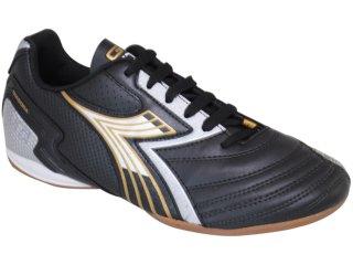 Tênis Masculino Diadora go Str 350837 Preto/dourado - Tamanho Médio