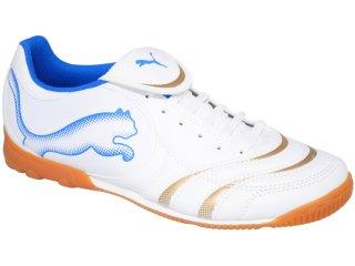 Tênis Masculino Puma 101920 Branco/azul - Tamanho Médio