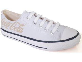 Tênis Feminino Coca-cola Shoes C0021703 Branco - Tamanho Médio