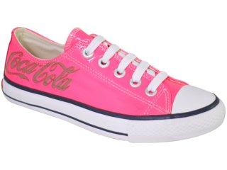 Tênis Feminino Coca-cola Shoes C0021705 Pink - Tamanho Médio