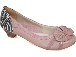 Sapato Feminino Campesi 1451 Taupe - Tamanho Médio