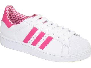 Tênis Feminino Adidas G29513 Star 2 Branco/pink - Tamanho Médio