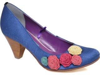 Sapato Feminino Cravo e Canela Cravo & Canela 58029/11069 Royal - Tamanho Médio