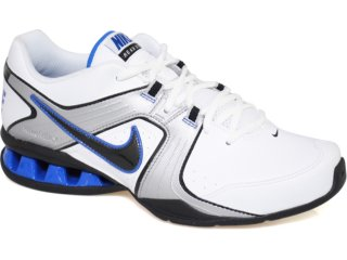 Tênis Masculino Nike Reax 415348-103 Bco/pto/azul - Tamanho Médio