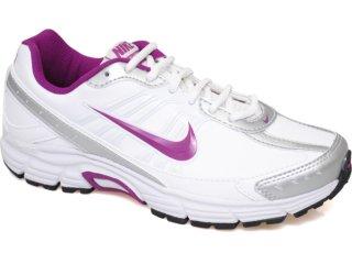 Tênis Feminino Nike Dart Viii 410235-103 Branco/roxo - Tamanho Médio