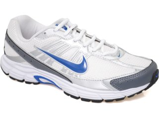Tênis Masculino Nike Dart Viii 410238-100 Branco/azul - Tamanho Médio