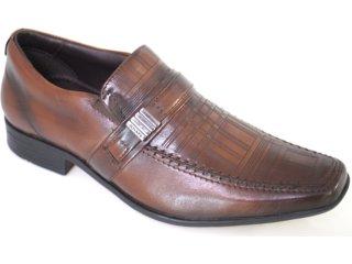 Sapato Masculino Jota pe 8170 Tan - Tamanho Médio