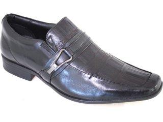 Sapato Masculino Jota pe 8142 Preto - Tamanho Médio