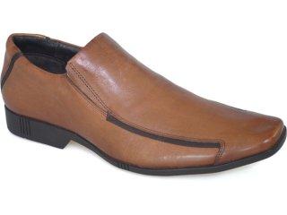 Sapato Masculino Ferracini 6931 Tabaco - Tamanho Médio
