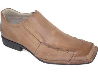 Sapato Masculino Ferracini 8137 Tabaco - Tamanho Médio