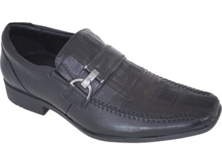 Sapato Masculino Jota pe 8128 Preto - Tamanho Médio