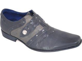 Sapato Masculino Ferracini 6265 Preto - Tamanho Médio
