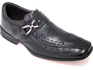Sapato Masculino Kedoll 9102 Preto - Tamanho Médio