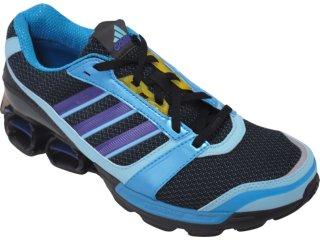 Tênis Masculino Adidas zx 8000 U43104 Preto/azul - Tamanho Médio