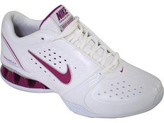 Tênis Feminino Nike Reax 415355-101 Branco/violeta - Tamanho Médio