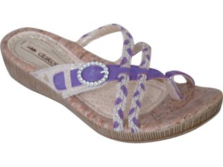 Tamanco Feminino Dakota 5823 Violeta - Tamanho Médio