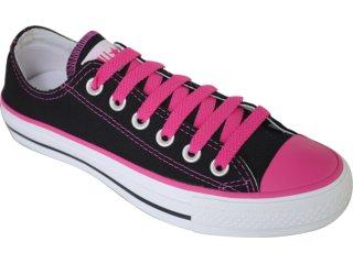 Tênis Feminino All Star 686133 Preto/pink - Tamanho Médio