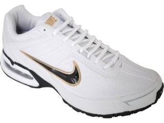 Tênis Masculino Nike Max Spear 390701-102 Branco/preto - Tamanho Médio