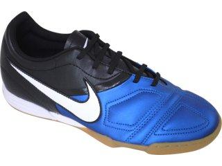 Tênis Masculino Nike Enganche 366231-410 Preto/branco/azul - Tamanho Médio