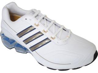 Tênis Masculino Adidas G12216 Devotion Branco/azul - Tamanho Médio