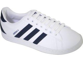 Tênis Masculino Adidas Derby G29629 Branco/marinho - Tamanho Médio