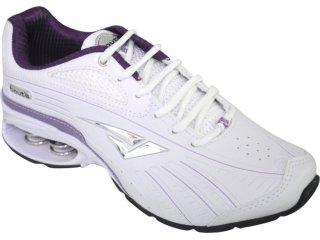 Tênis Feminino Bouts 7323 Branco/uva - Tamanho Médio