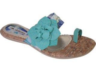 Tamanco Feminino Dakota 5395 Jade/azul - Tamanho Médio