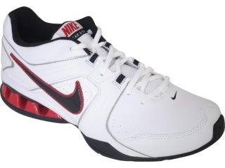 Tênis Masculino Nike Reax 415348-102 Branco/pt/vermelho - Tamanho Médio