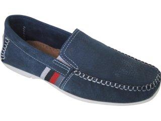 Sapato Masculino Pegada 8901-20 Azul - Tamanho Médio