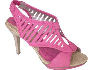 Sandália Feminina Ramarim 1027206 Pink - Tamanho Médio