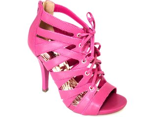Sandal Boots Feminina Via Marte 10-15506 Fúcsia - Tamanho Médio