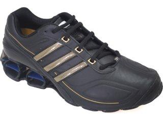 Tênis Masculino Adidas G17034 Preto/ouro - Tamanho Médio