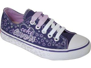 Tênis Feminino Coca-cola Shoes C0052002 Uva - Tamanho Médio