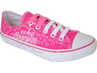 Tênis Feminino Coca-cola Shoes C0052003 Pink - Tamanho Médio