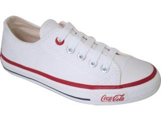 Tênis Feminino Coca-cola Shoes C0230006 Branco - Tamanho Médio