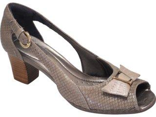 Sapato Feminino Usaflex 7110 Natural - Tamanho Médio