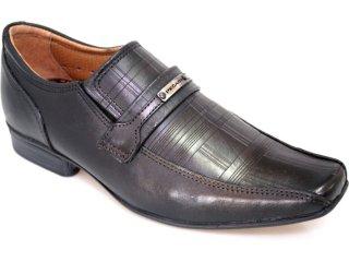 Sapato Masculino Pegada 20155-1 Preto - Tamanho Médio