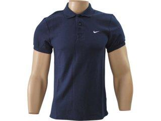 Camiseta Masculina Nike 340803-473 Marinho - Tamanho Médio