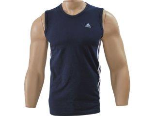 Camiseta Masculina Adidas P14865 Marinho - Tamanho Médio
