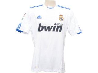 Camisa Masculina Adidas P96163 Real Madrid Branco - Tamanho Médio